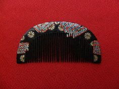 Vintage-Japanese-Hair-Comb-RADEN-works