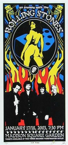 Rolling Stones Concert, Rolling Stones Tour, Tour Posters, Wall Posters, Music Posters, Work Music, Madison Square Garden, Rock Concert, Punk