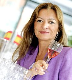 """Top 50 most powerful women in wine. Pictured is Christina Forner of Marqués de Caceres. """" Forner is a prominent figure in Rioja Alta where the winery is situated, but is also used to operating on an international stage, not only for her own bodega but also for the wines of her region."""""""