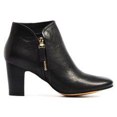 ELURID | Cinori Shoes #djangoJuliette #black #blockheel #ankleboots #booties #cinori #cinorishoes #boots #leather #winter #aw14