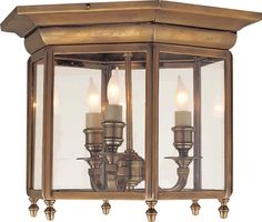 Antique-Burnished Brass Finish