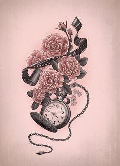Moments captured Tattoo design, by XxMortanixX