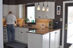 Home the o 39 jays and kitchen remodeling on pinterest for Split level kitchen remodel before and after