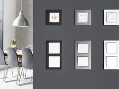 Danfoss Icon™ Dial - Raumthermostat - bauemotion.de Gallery Wall, Mirror, Furniture, Home Decor, Living Room Ideas, Frame, Bedroom, Decoration Home, Room Decor