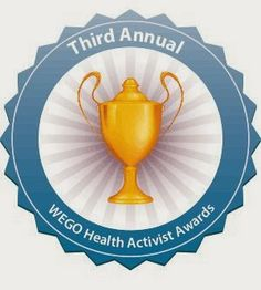 Nominations are open for the Third Annual WEGO Health Activist Awards! Recognize your favorite Health Activists and all those who have made a difference in your community this year: Ulcerative Colitis, Chronic Pain, Chronic Illness, Crps, Nerve Pain, Invisible Illness, Nutrition Information, Awards, About Me Blog
