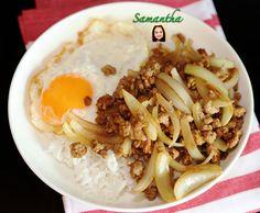 หมูสับผัดหอมใหญ่ไข่ดาวราดข้าวเมนูทำง่ายและอร่อยเวอร์ / Stir-Fried Minced...