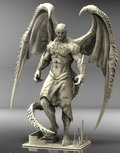 zbrush_Dragonewt 完成! 最近寒い~。... Liking the spines and horns - particularly on the forearm/elbow