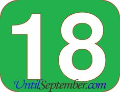 In the event that you wonder how many days until September 2020 then you can learn it via the countdown, we have located above. How Many Days Left, How Many Years, Day Left, Tuesday, 18th, September, Friday, York, Let It Be