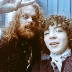 (Hairy) father & (adopted) son.❤ Sam looks like a crazy (&scary) viking... #samheughan #romannberrux #outlander #jamiefraser #jammf #fergus #fergusfraser #fatherandson #outlanderseason3 #season3 #3x02 #dunbonnet #redhair #ginger #hair #beard #crazy #viking via ✨ @padgram ✨(http://dl.padgram.com)