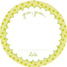 Delightful Distractions: Printable Jar Labels... for you :)