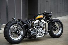 Shovelhead bobber   Bobber Inspiration - Bobbers and Custom Motorcycles   diy712 September 2013 #harleydavidsonbobber
