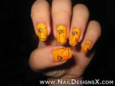 sweet halloween nail design » Nail Designs & Nail Art