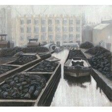 Coal Wharf Birmingham  Lou Moore Canal Artist www.rcta.org.uk  @canaltraders