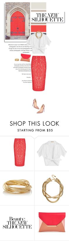 """""""Perfect Pair of Nude Pumps (Top Fashion Sets for May 6th, 2015)"""" by sophiek82 ❤ liked on Polyvore featuring Michael Kors, M&S, The Limited, ASOS, Sole Society, Christian Louboutin, christianlouboutin, shirt, nudepumps and pencilskirt"""