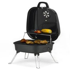 Flame Master Travel Chef Portable Charcoal Barbecue