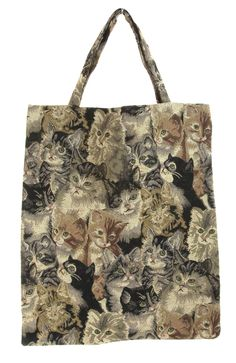 Cat Tapestry Eco Bag