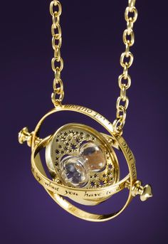 Harry Potter Collectible Time Turner by Noble Collection.  I think I would like this very much-