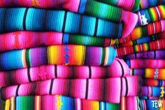 Le stoffe colorate del #Guatemala