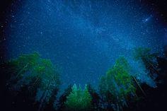 Internazionale » Tutti i colori del mondo - La via Lattea vista dal parco nazionale di Oulanka, in Finlandia. - Peter Essick (National Geographic)