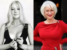 Helen Mirren: young and old, always hot. --  Actresses Who Used to Be Smoking Hot  http://www.chacha.com/gallery/7289/old-actresses-who-used-to-be-smoking-hot