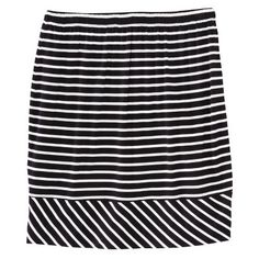 Target : Merona Women's Elastic Waist Mini Skirt - Assorted Stripes : Image Zoom