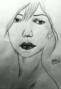 Beautuful girl sketch