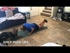 Just Watch What Her German Shepherd Does When She Exercises At Home! – iHeartDogs.com