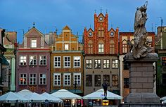 Poland: Blue Hour in Poznan