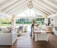 This generous Waikato home's outdoor living is what dreams are made of #showpo #dreamhome #interiorgoals #housegoals #stylishinteriors #interiorstyle #iloveshowpo