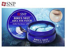 SNP BIRD'S NEST AQUA EYE PATCH Swiftlet Nest Extract (60pcs)  SeHOON #SNP
