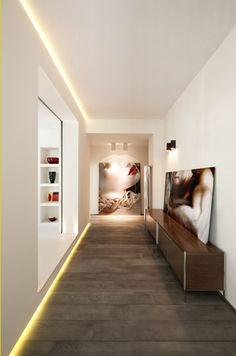 #Lifestyle | #Decoration_interieur #Interior_design | #Couloir épuré & lumineux | Uncluttered and bright #corridor #Hallway