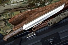 CFK USA iPak Survival Custom Handmade D2 TANTO Yoshimitsu Wakizashi Knife V2 #CFKCutleryCo