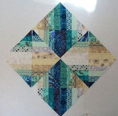 Today I am going to show you how to make the Blended Scraps Blocks that I used to make Reflection . These blocks are easy and fun to make....
