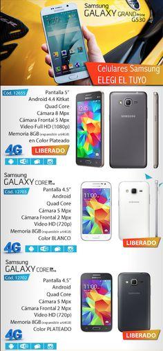 Samsung Argentina #Samsung #Galaxy #GRANDPrime #G530 #4G  www.gvinformatica.com.ar #Olivos_VL #VecinosVL #FloridaEsteVL