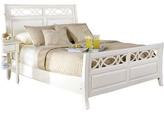 Shop for a Cindy Crawford Home Seaside White Sleigh 3 Pc Queen Bed at Rooms To Go. Find Queen Beds that will look great in your home and complement the rest of your furniture. #iSofa #roomstogo