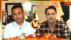 Shoaib Akhtar Takes Class Of Virender Sehwag On An Indian Channel