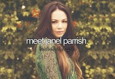 Meet Janel Parrish ♡ PLL