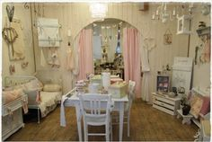 Los MiMis Armoire-Shabby Chic is in Pratteln, Switzerland has antique and vintage furniture in a shabby chic, romantic vintage style