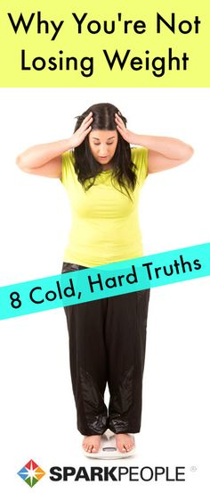Here are 8 cold, hard truths for why you might not be losing weight. Are you eating back the calories you burn? Are you not pushing yourself when you workout? Is your exercise at a plateau? The best way to weight loss in READ MORE! Sport Fitness, Fitness Diet, Health Fitness, Rogue Fitness, Easy Fitness, Weight Lifting, Weight Loss Tips, Not Losing Weight, Fitness Motivation