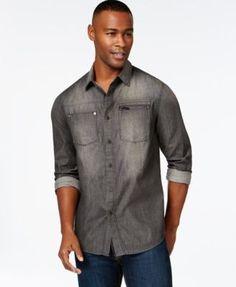 Sean John Vintage-Wash Shirt