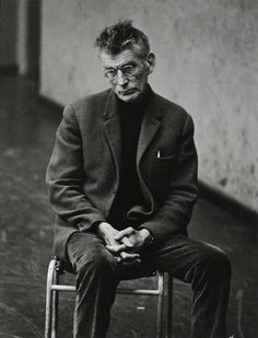 """""""The tears of the world are a constant quantity. For each one who begins to weep somewhere else another stops. The same is true of the laugh."""" — Samuel Beckett, Waiting for Godot"""