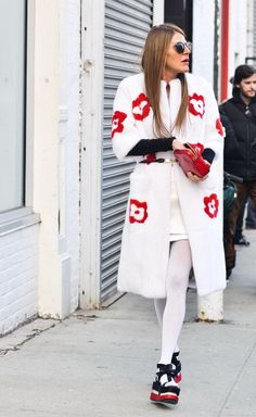 RUNWAY TO REALWAY: Street style at #MBFW Anna Del Rosso