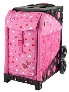 de3f7b53f0 Zuca Sport Bag - Sweetheartz with Gift Lunchbox and Seat Cover (Pink Frame)