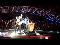 Luke Bryan, Randy Houser, Thomas Rhett & Dustin Lynch ~ Sugar ~ Nashville, TN ~ 7/11/15 - YouTube