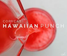Copycat Hawaiian Punch is a recipe for the classic red fruit punch. What is great about this recipe, you don't have to have a red stained smile to be happy.