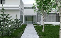 bauhaus 28 Bauhaus Style, Garage Doors, Explore, Outdoor Decor, Home Decor, Decoration Home, Room Decor, Home Interior Design, Carriage Doors