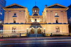 Pioneer Courthouse in downtown Portland.