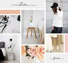 Classic Feminine Moodboard | Breanna Rose Latest Modern Web Designs. http://webworksagency.com
