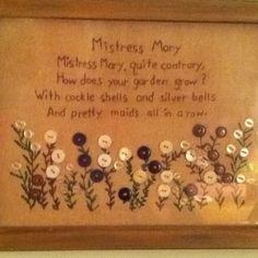 An old nursery rhyme
