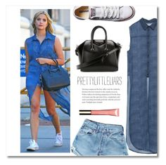 """TV Style: Pretty Little Liars (Contest Entry)"" by themisssantiago ❤ liked on Polyvore featuring Converse, Clarins and pll"